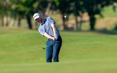 Anders Albertson leads after first round at Veritex Bank Championship